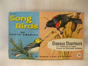 Brooke Bond Red Rose Tea Canada Song Birds of North America Album & Cards