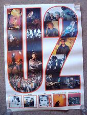 "U2 Boy, October, War, Blood Red,The Unforgettable POSTER UK,24 x 34"" (63 x 88cm)"