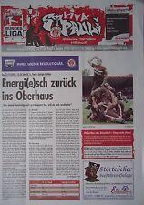 Programm 2009/10 FC St. Pauli - Energie Cottbus