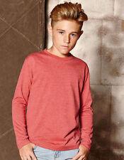 Vêtements coton mélangé à manches longues pour garçon de 2 à 16 ans