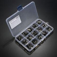 600Pcs 15 Value x 40 Pcs Transistor TO-92 Assortment Box Kit TSUS*