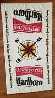 """Vintage MARBORO TOWEL Marlboro Adventure Team Beach Towel 63 x 34"""""""