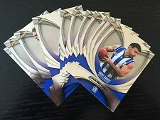 2011 Select AFL Champions Complete Silver Parallel teamset Kangaroos (11)
