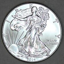 2014 UNCIRCULATED AMERICAN SILVER EAGLE, 1oz 0.999 FINE (04)