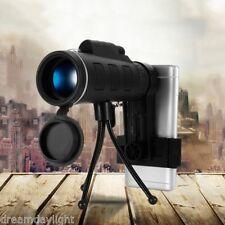 40X60 Camera Monocular Zoom Optical Lens Telescope Tripod Clip for Smart Phone