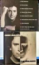 Greg Aulden - The Balance (CD, 1993, Artist's Label, US INDIE) VERY RARE