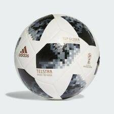 New Adidas World Cup 2018 Telstar Football Top Glider Youth Soccer Ball Size 4