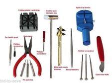 16PCS Watch Repair Tool Kit Band Pin Strap Link Remover Back Opener Screwdriver