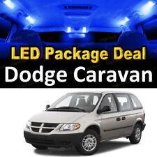 For 2001 - 2006 2007 Dodge Caravan LED Lights Interior Package Kit BLUE 15PCS
