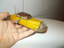 JOUSTRA VOITURE OBSTACLE 2005 DE 1952 OLD FRENCH TOYS