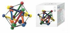 Manhattan Toys Classic Wood Skwish Coloured Teether Teething Baby Toy Gift Boxed