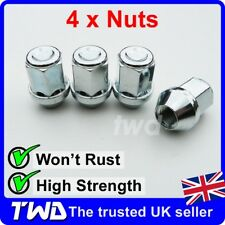4 x TAPER SEAT WHEEL NUTS FOR PORSCHE WITH AFTER-MARKET ALLOYS M14x1.5 [4E]