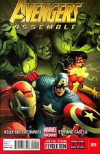 Avengers Assemble #9 Unread New Near Mint Marvel 2013 Digital Code Included **16