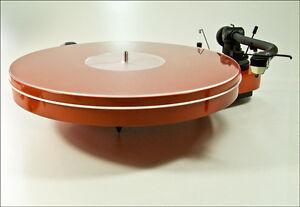 Analogis Mat Three Acryl klar Plattenteller-Auflage-Matte NEU Slipmat 3 NEW
