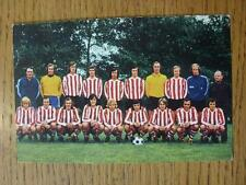 1960/70's European Football Postcard: PSV Eindhoven - Holland [36]. No obvious f