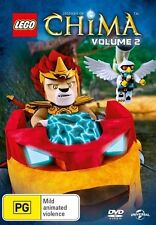 Lego Legends of Chima: Season 1 - Volume 2 NEW R4 DVD