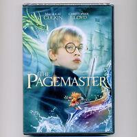 The Pagemaster 1994 G movie, new DVD Culkin, Lloyd, Stewart, Goldberg, Nimoy