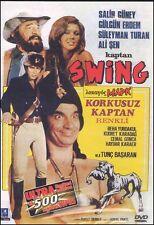 KORKUSUZ KAPTAN SWING Turkish Action PAL DVD Limited ONAR FILMS OOP NEW