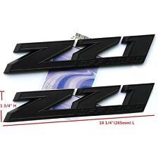 "2x OEM 10"" Big Z71 OFF ROAD Emblem badges 3D Silverado Ford 2500HD F Black Matt"