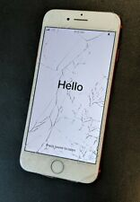 Apple iPhone 7 - 32GB - Red (Unlocked) - Cracked Screen - All Else WORKING- USA