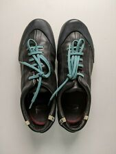 Camper Peu Womens US 9 Black Leather Lace Up Sneakers Shoes Athletic EU 38