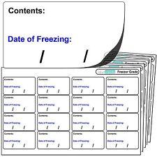256 Congelatore etichette. per l'utilizzo con qualsiasi standard PEN. CONGELATORE ADESIVO ADESIVI.