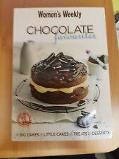 Womens Weekly mini cookbook CHOCOLATE FAVOURITES EUC