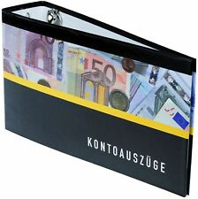 10 Bankordner 140x250mm / Ordner für Kontoauszüge