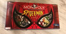 Monopoly Spider-Man Collector's Edition Board Game - 2002 - Complete