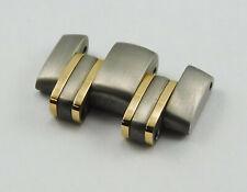 Omega Seamaster 18K Gold Titanium Link 20MM TI 1504/826 Tubes & Pin New Auth