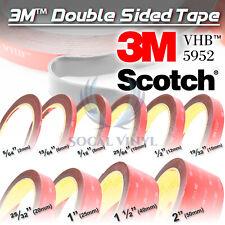 **10 Feet**Genuine 3M VHB #5952 Double-Sided Mounting Acrylic Foam Tape Adhesive