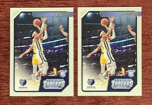 Lot of (2) 2019-20 Chronicles Threads JA MORANT Rookie Card #84 RC Grizzlies🔥