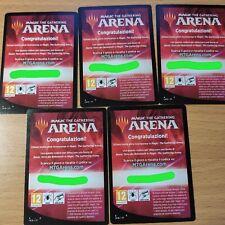 5x MTG Magic Arena Code Booster Ikoria Lair of Behemoths Terra dei Behemoth MTGA