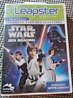 LeapFrog Leapster Star Wars Jedi Reading Learning Game