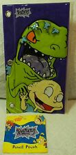 RugRats Notebook Folder 1997 and 3D Pencil Pouch 1999 Reptar Spike Lil Phil New