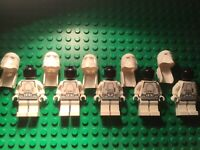 LEGO® Star Wars™ Figur 5x Snowtrooper Set 7666, 7749, 7879