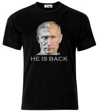 Vladimir Putin As Ceaser He Is Back T-Shirt Neu All Sizes
