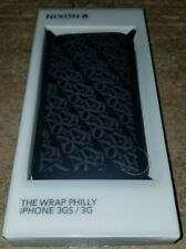 Nixon The Wrap Philly iPhone 3GS 3G Phone Case Brand New In Package RARE !