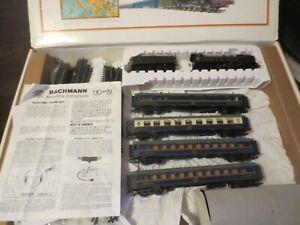 "BACHMANN ""ORIENT EXPRESS"" HO SCALE ELECTRIC TRAIN SET #40-0185"