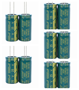 25v10000uf JCCON Audio Amplifier High Frequency Low Resistance Capacitor 18x35