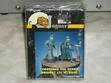 "Jaguar 1/35 Scale Resin ""Ceossing The Desna Bridge"" w/Base Figures"