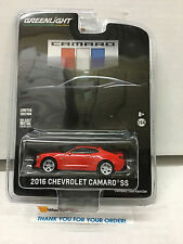 New 2016 Chevrolet Camaro SS Unveiling * RED * Greenlight Hobby Only YB5