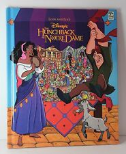 Look and Find Disney's The Hunchback of Notre Dame Hardcover Childrens Book USED