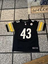 Troy Polamalu #43 Pittsburgh Steelers Nike Youth Large Jersey!