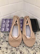 Dance Class Women's Split Sole Leather Ballet Slipper (Size 6.5) Pink Leather
