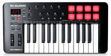 M-Audio Oxygen 25 MKV USB Midi Keyboard Controller Audio Tastatur Tasten Maudio