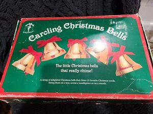 Ye Merrie Minstrel Caroling Christmas Bells 25 Songs 12 Bells AUS-101 TESTED