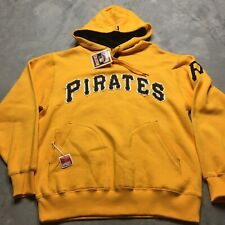 COOPERSTOWN COLLECTION PITTSBURGH PIRATES Hoodie Sweatshirt M Embroidered Retro