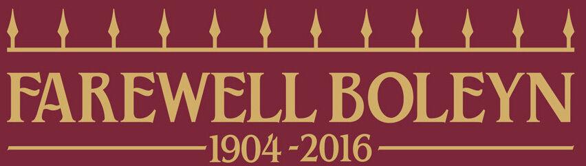 Farewell Boleyn