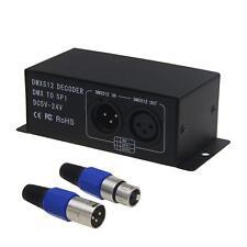 DMX to SPI Decoder Controller for WS2812 WS2811 SK6812 WS2813 LED Strip DC5V~24V